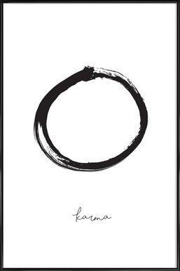 Karma - Honeymoon Hotel - Poster in kunststof lijst