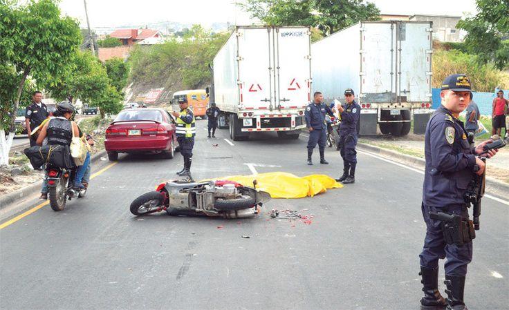 Accidentes de tránsito dejaron 1.407 muertos en Honduras en 2016
