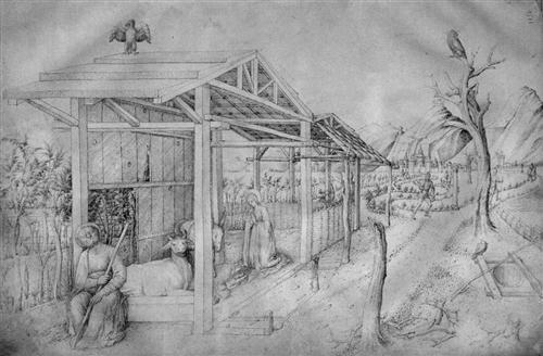 Jacopo Bellini (ca. 1400 – 1470) was een Venetiaanse schilder.  Jacopo was één van de stichters van de schilderstijl van de Renaissance in Venetië en noordelijk Italië. Weinige schilderijen bestaan nog, maar zijn overlevende schetsboeken (in het British Museum en in het Louvre) tonen aan dat Jacopo Bellini geïnteresseerd was in landschappen en in architectuurontwerpen. Zijn overgebleven werken tonen hoe hij met lineair perspectief werkte.  Nativity