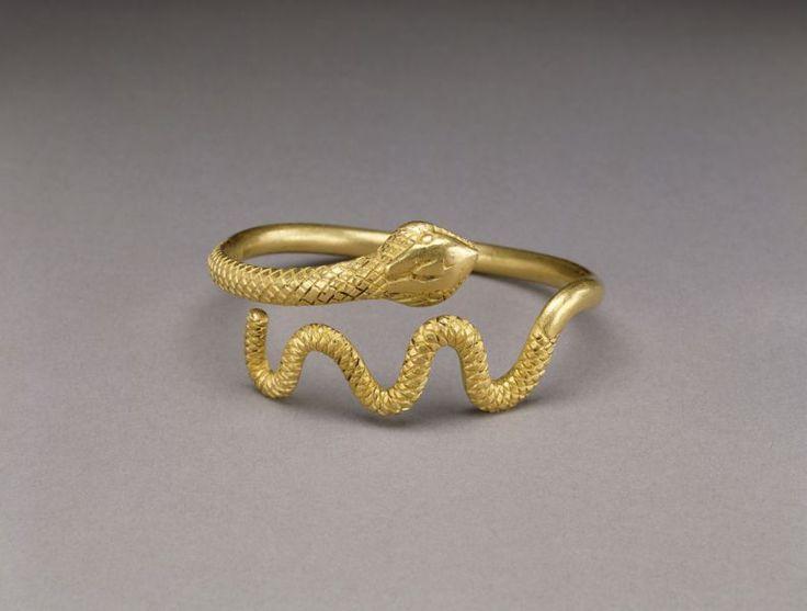 Браслеты из золота в виде змеи купить