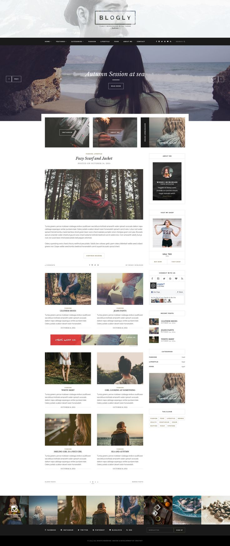 Blogly - Fancy PSD Blog Template • Download ↓ https://themeforest.net/item/-blogly-fancy-psd-blog-template/13551336?ref=pxcr