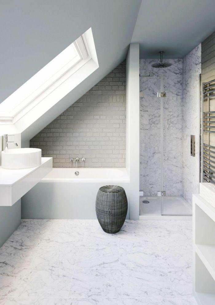 ▷ 1001 + propositions pour la salle de bain mansardée idéale ...