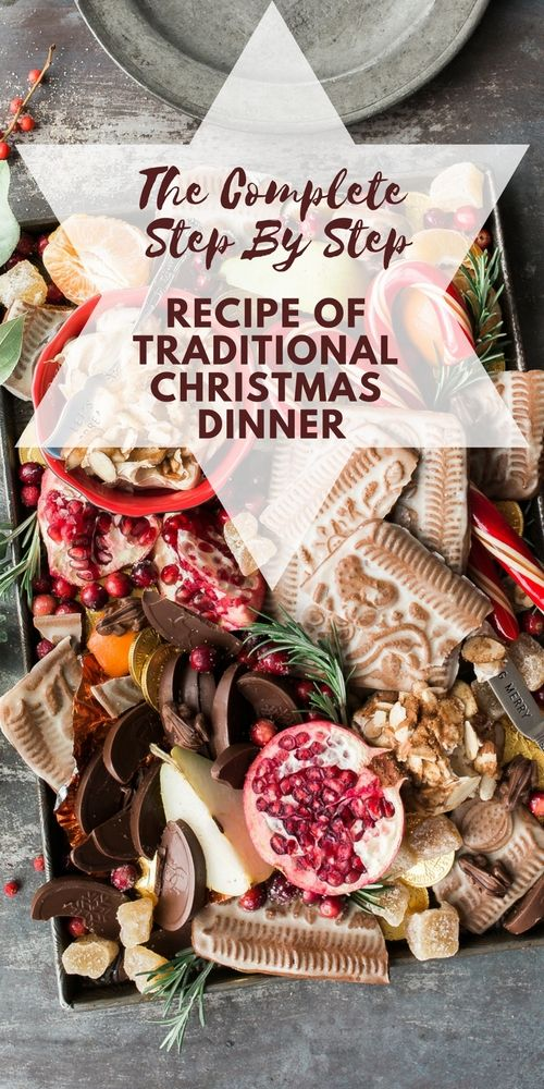 The complete step by step recipe of traditional Christmas dinner menu