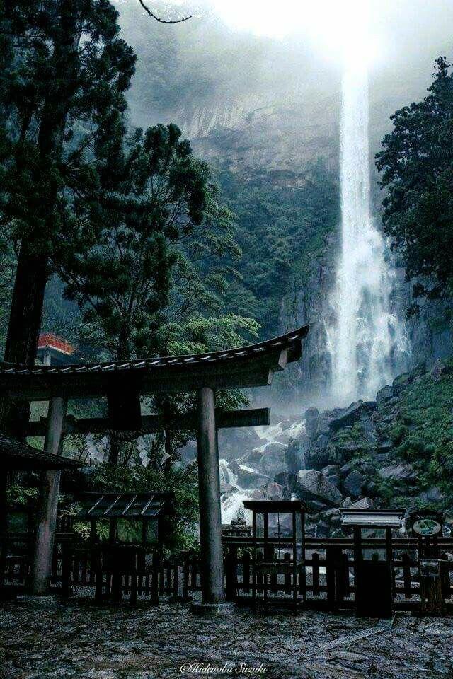 那智の滝 nachi falls - wakayama japan