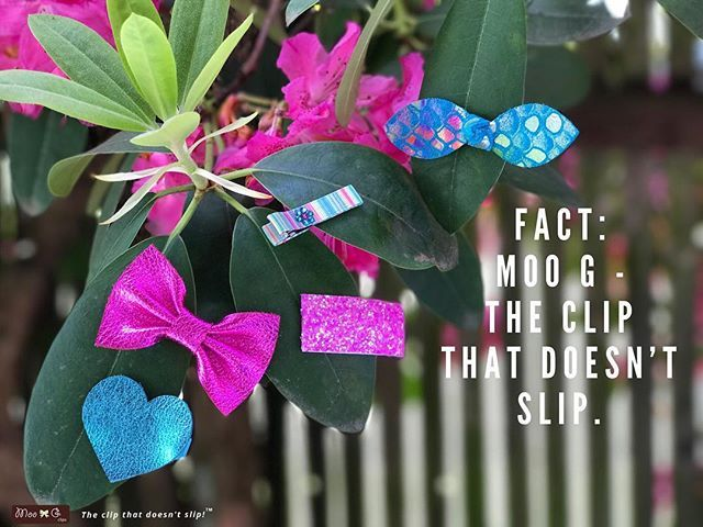 These clips from our June ClipScrip™ could have stayed hanging out on this tree all day! Moogies are no slip and fun/twirl/dance/leaves proof (they are not water proof though)! • Info about our ClipScrip™ can be found through the link in our bio. To sum it up- you get a monthly set and save 50% on the contents! And no commitment. This mermaid inspired June set is currently available!