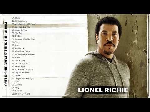 895302f038 Lionel Richie Greatest Hits Full Playlist 2017 - Top 30 Best Songs Of  Lionel Richie - YouTube