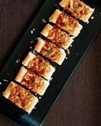 Open-Faced Crab Empanadas // More Beautiful Dishes: http://fandw.me/qHV #foodandwine