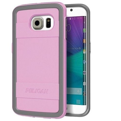 Pelican ProGear Protector Series for Samsung Galaxy S6 - Retail Packaging - Pink / Gray