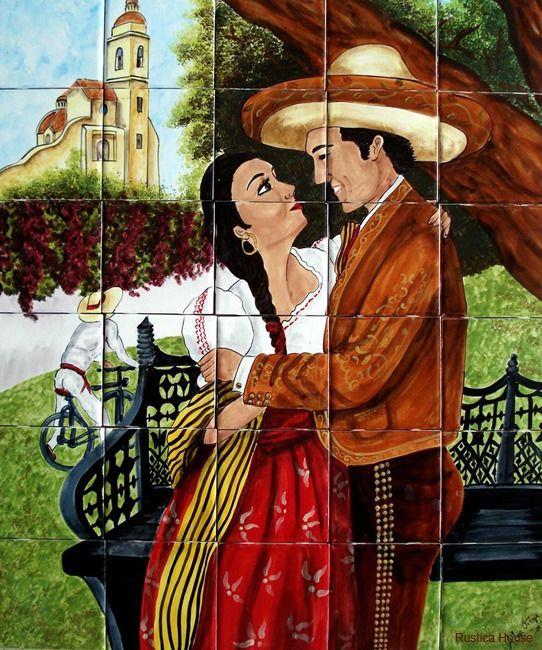 Decorative Wall Tile Murals Amazing 175 Best Decorative Tile Murals Images On Pinterest  Decorative Design Inspiration