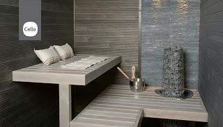 Another beautiful sauna...