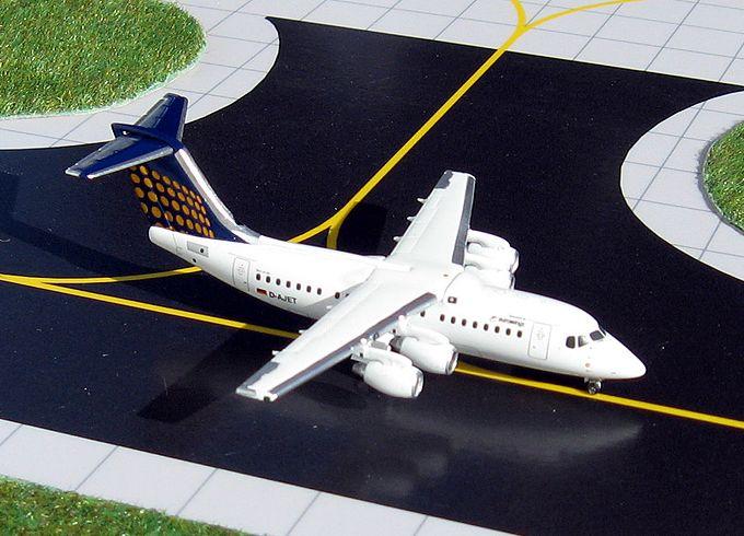1/400 GeminiJets Eurowings British Aerospace BAe 146-200 Diecast Model