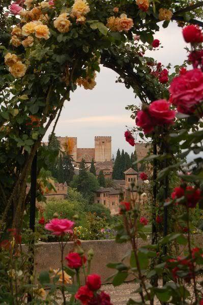 DE LA TRISTEZA DE BOABDIL. Granada. Alhambra. Spain