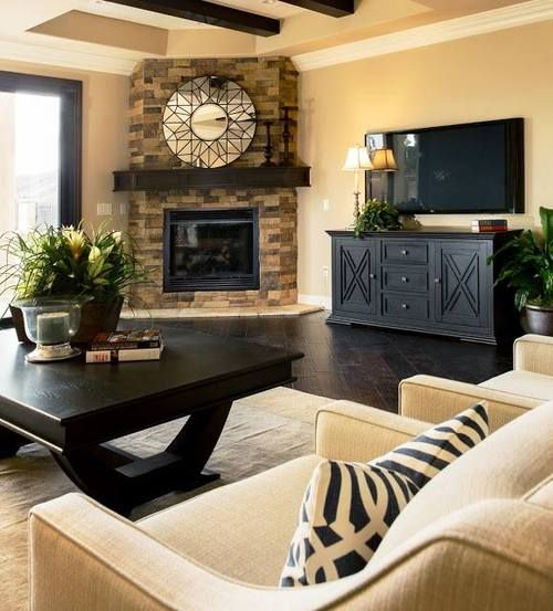 1000 Ideas About Fireplace Furniture Arrangement On