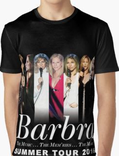 Barbra Streisand TOUR 2016 HARTA3 Graphic T-Shirt