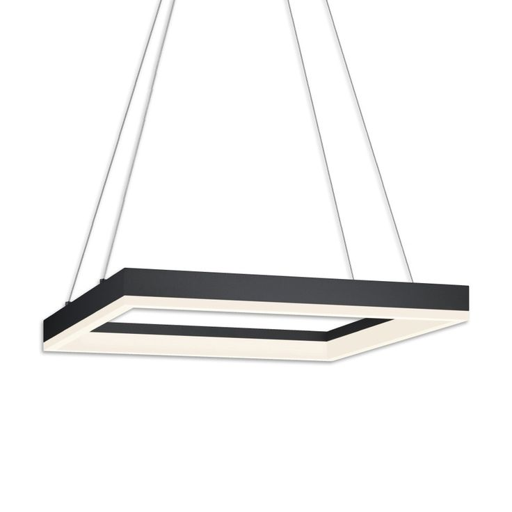 Corona 19 Inch Square LED Pendant Light