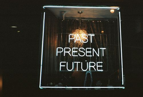 the past is history the future is a mystery and this moment is a gift  that's why it's called the present