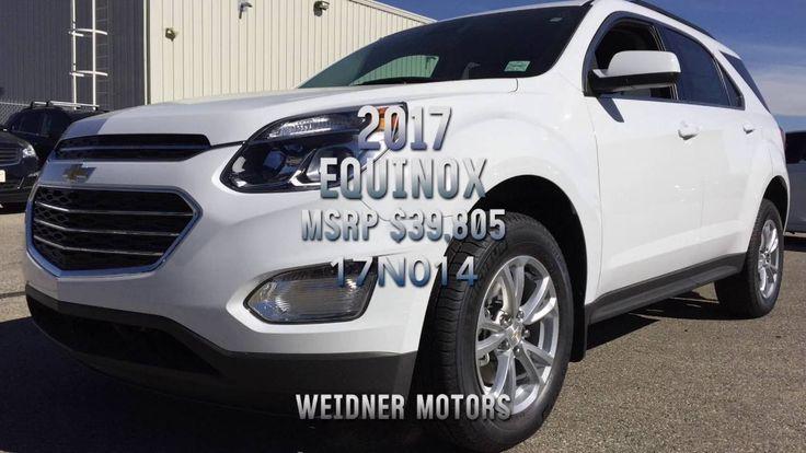 New 2017 Chevrolet Equinox 1LT Sport White Stock 17n015