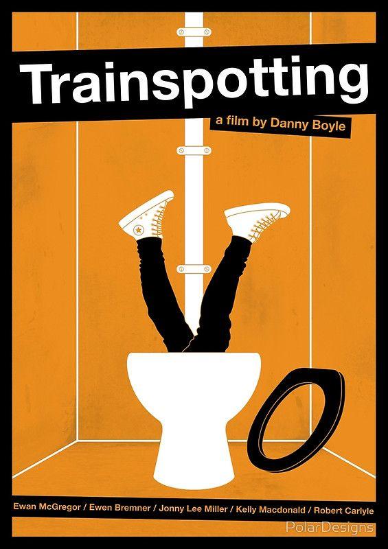Trainspotting film poster by PolarDesigns