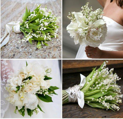 Flowers I like: Lily of the Valley instead of Baby's Breath? (spring bloom)