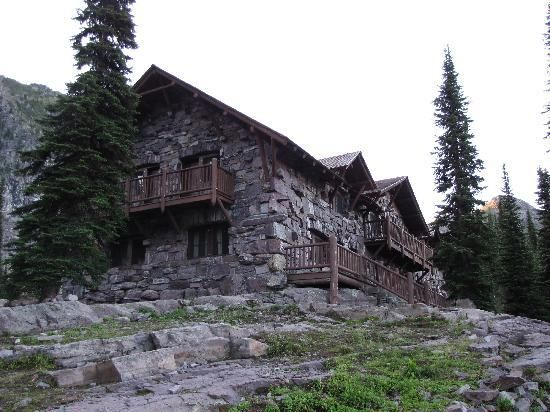 Sperry Chalet, Glacier NP - hike 6+ miles uphill to get there