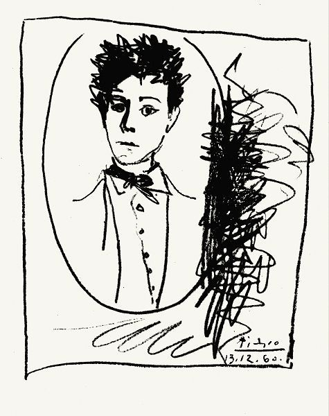 arthur rimbaud by Picasso