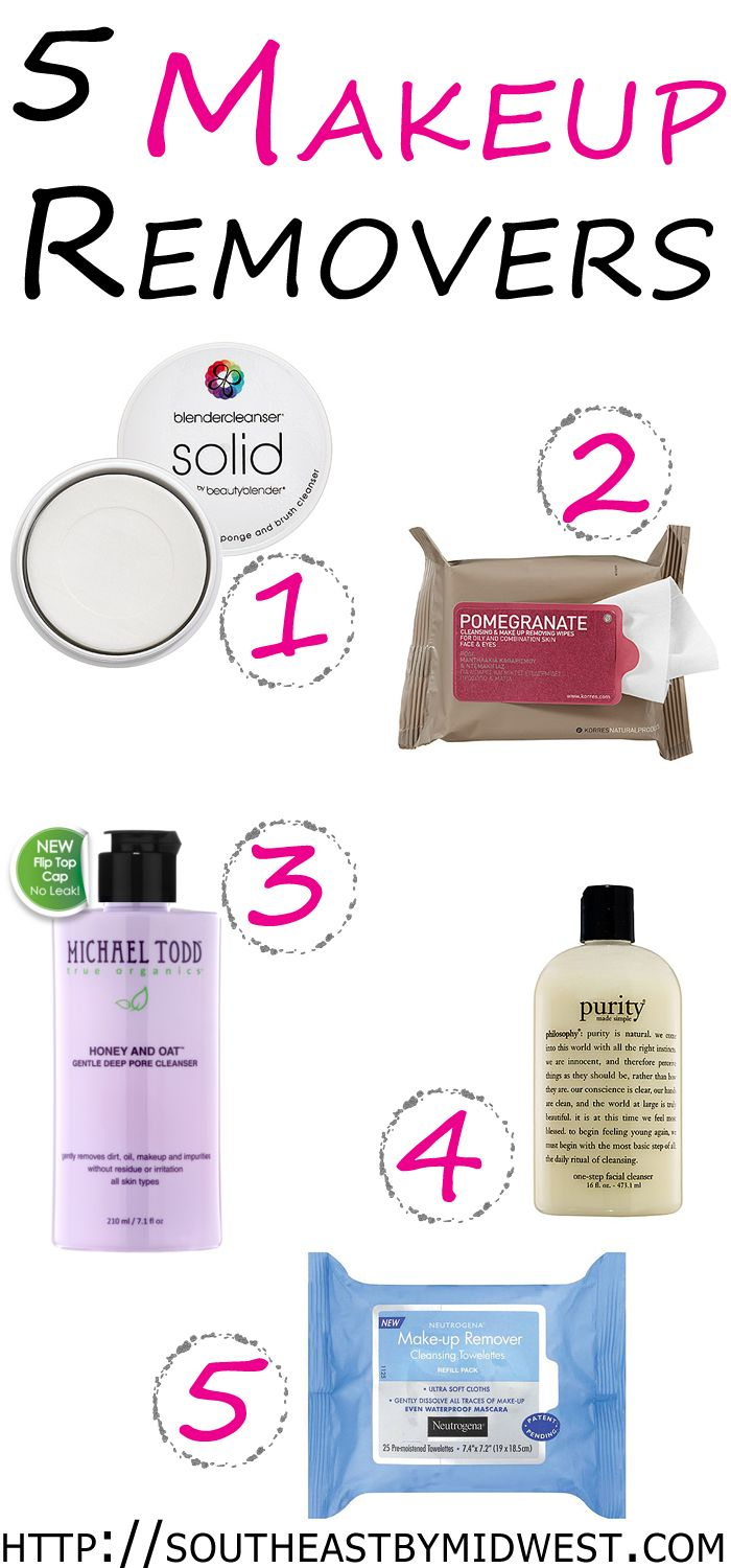 5 Best Makeup Removers | Makeup removers you should try. #youresopretty