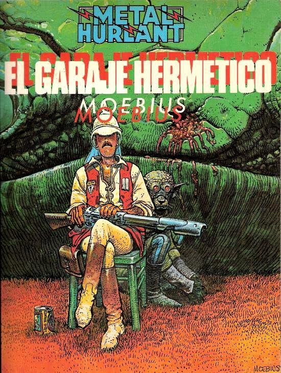 El garaje hermético (en francès Le Garage hermétique) és un còmic de ciència-ficció creat per Jean Giraud, conegut com a Moebius, i desenvolupat entre 1976 i 1980.
