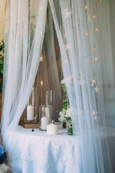 Whimsical decor: http://www.stylemepretty.com/destination-weddings/2015/03/23/whimsical-french-chateau-wedding/ | Photography: Coralie - http://coraliephotography.com/
