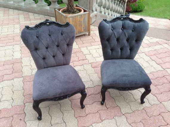 Best 25 fauteuil ancien ideas on pinterest - Canape ancien velours ...