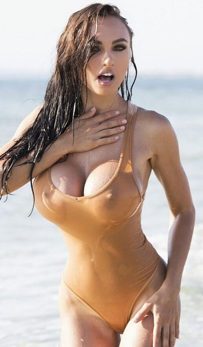 Bikini Models Boobs