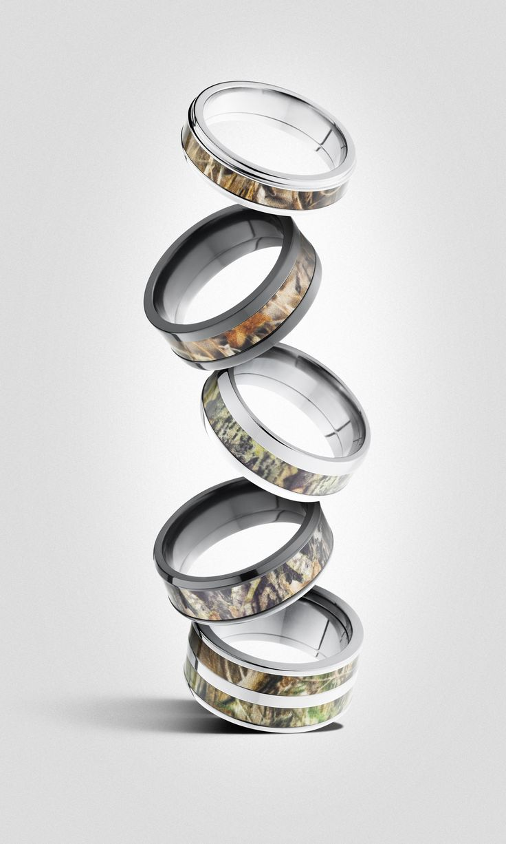 Camo Men's Rings By Lashbrook Available At Sanders Jewelers In Gainesville,  Florida!