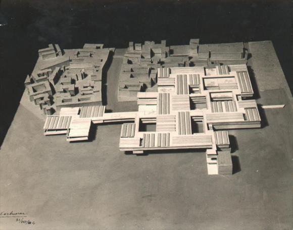 Venice Hospital, Italy, Le Corbusier, 1964