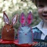 Egg Bunny Cozies