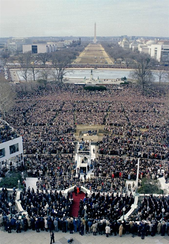 analysis of ronald reagans first inaugural This paper investigates ronald reagan's first inaugural address by applying the burkeian dramatistic pentad approach  a rhetorical criticism and analysis of .