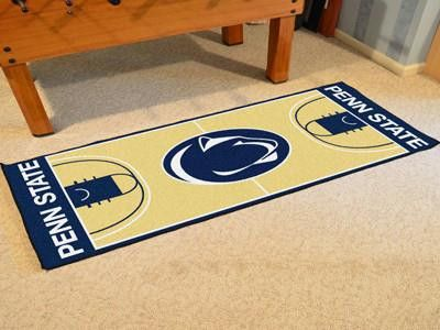 Penn State Basketball Court Runner 30x72
