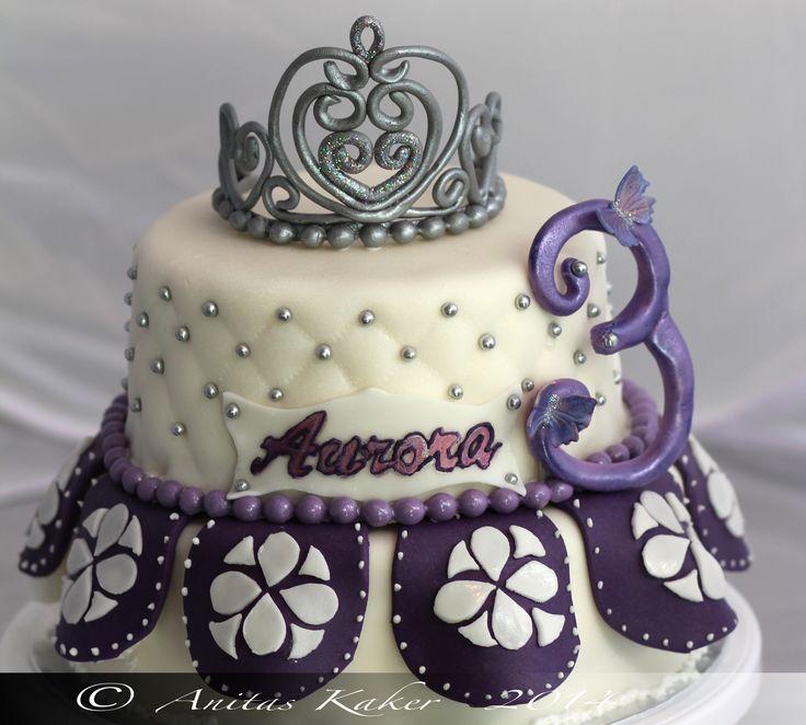 Princess Sofia inspired cake Bursdagskake prinsesse Sofia