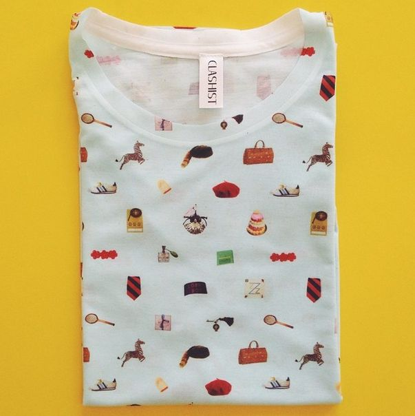 wes anderson collection tee