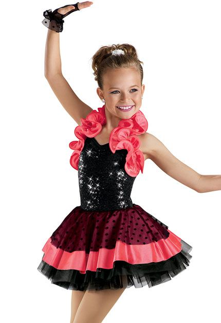 Sequin Satin Shrug Party Dress -Weissman Costumes