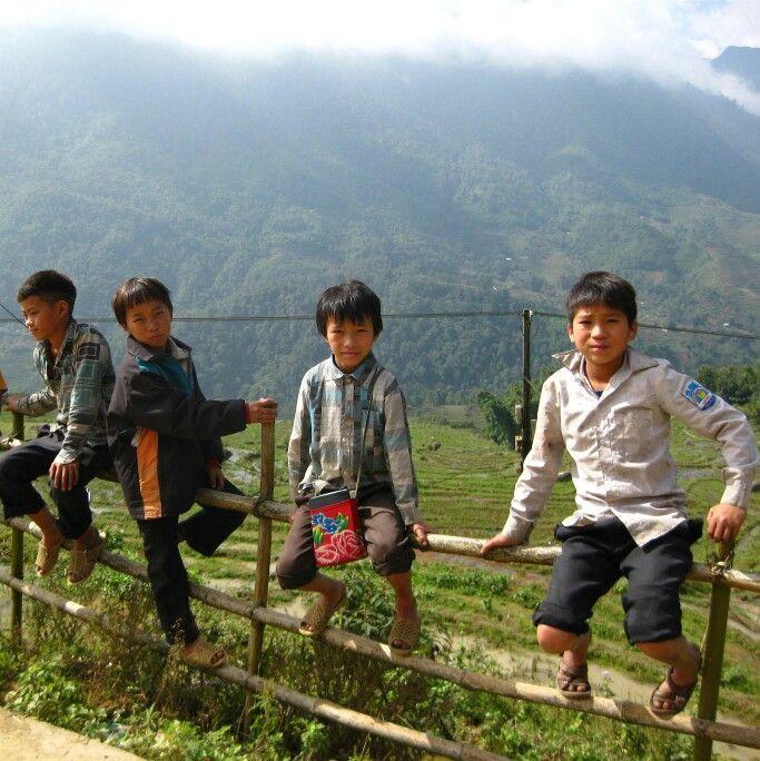 #Vietnam #People #kids #Sapa