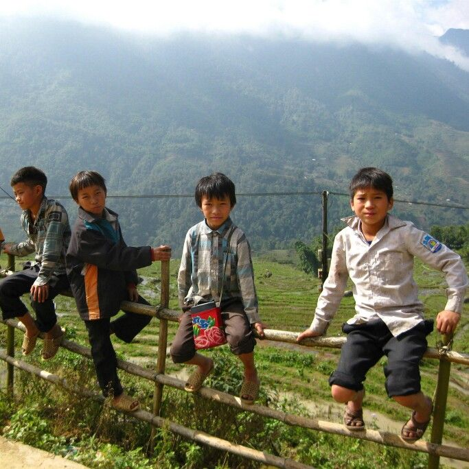 #Vietnam #People #kids #Sapa