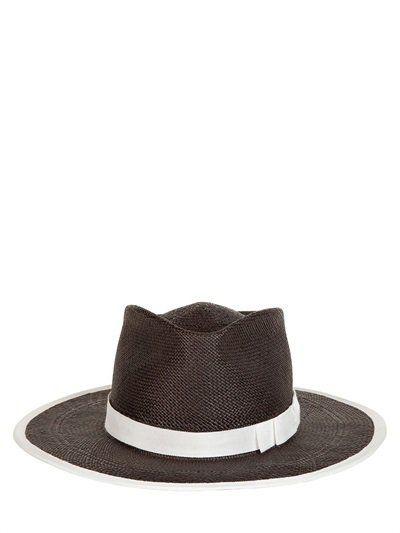"""Pin for Later: Behaltet einen kühlen Kopf mit diesen coolen Sommerhüten  Gladys Tamez Millinery Panamahut aus Stroh """"The Sinatra"""" (407,00 €)"""