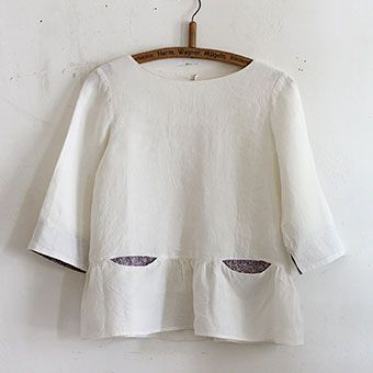 [Envelope Online Shop] Pattern blouse model 02 the linen bird HABERDASHERY Patterns & Books