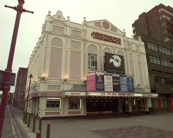 The Birmingham Hippodrome theatre.