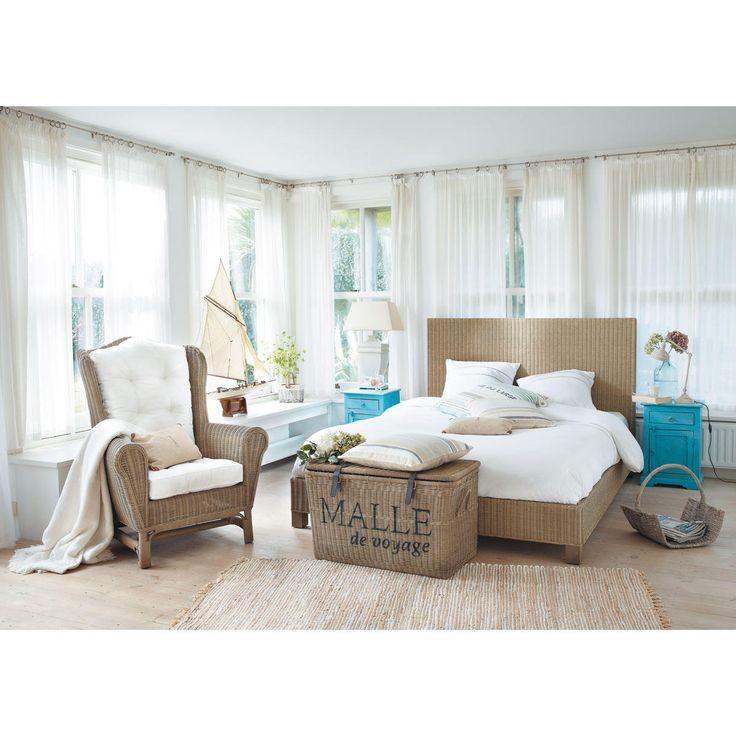 les 25 meilleures id es de la cat gorie malle en osier sur pinterest panier boule paniers de. Black Bedroom Furniture Sets. Home Design Ideas