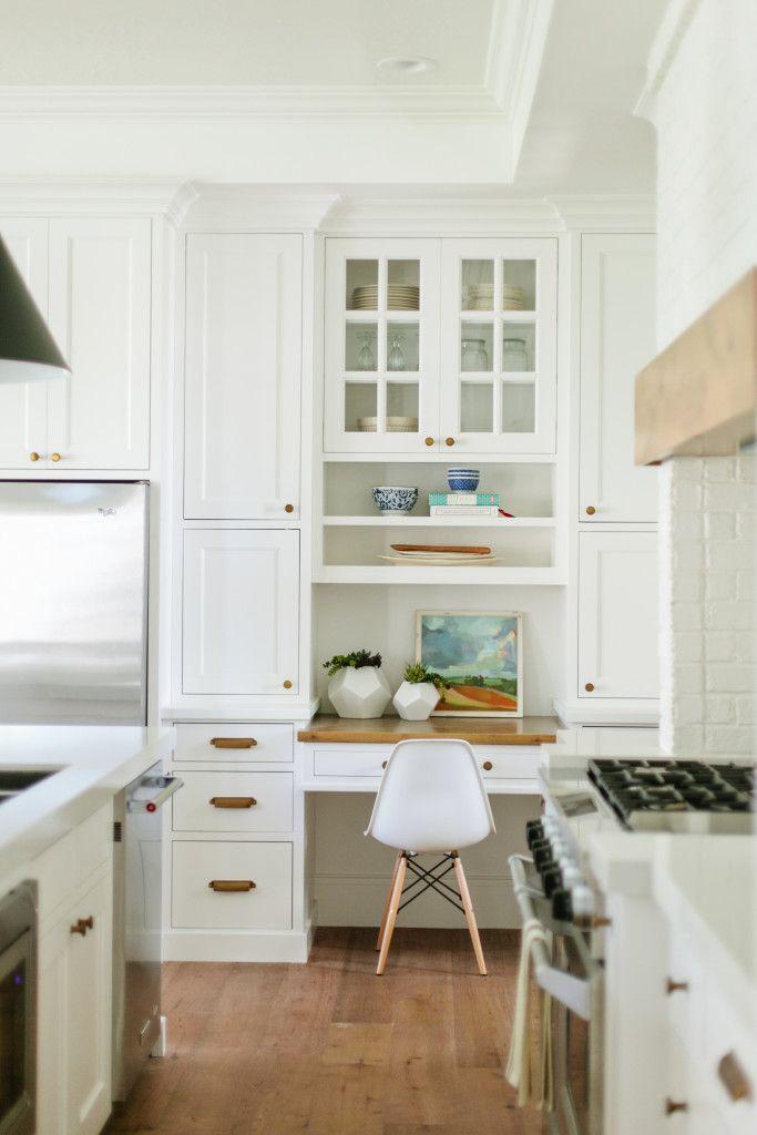 The Modern Farmhouse Project Kitchen U0026 Breakfast Nook   House Of Jade  Interiors Blog · Kitchen DesksKitchen CabinetsIn ...