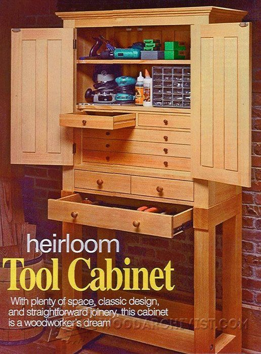 1000+ ideas about Cabinet Plans on Pinterest | Workshop ideas, Shop storage and Workshop plans