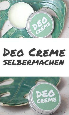 {DIY} Deo-Creme selbermachen