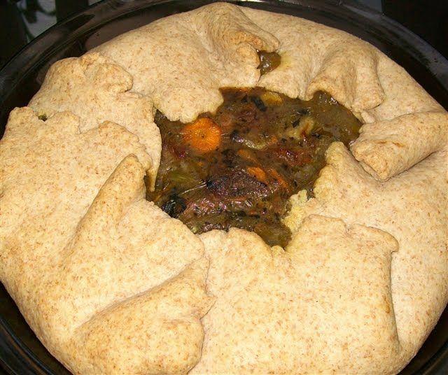 Leftover roast beef pie