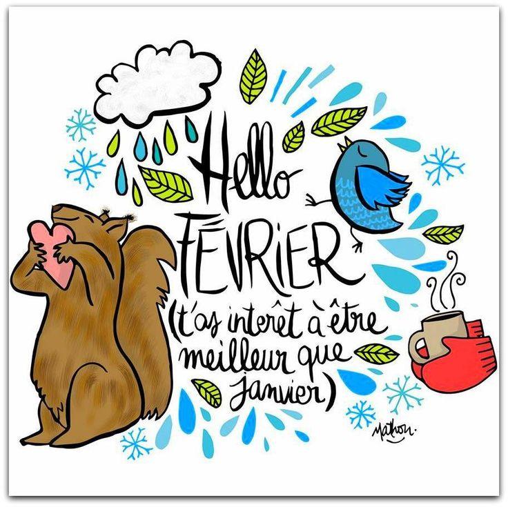 Illustration Crayon d'Humeur by Mathou www.crayondhumeur.com Hello Février! - Le site de Maître Zen