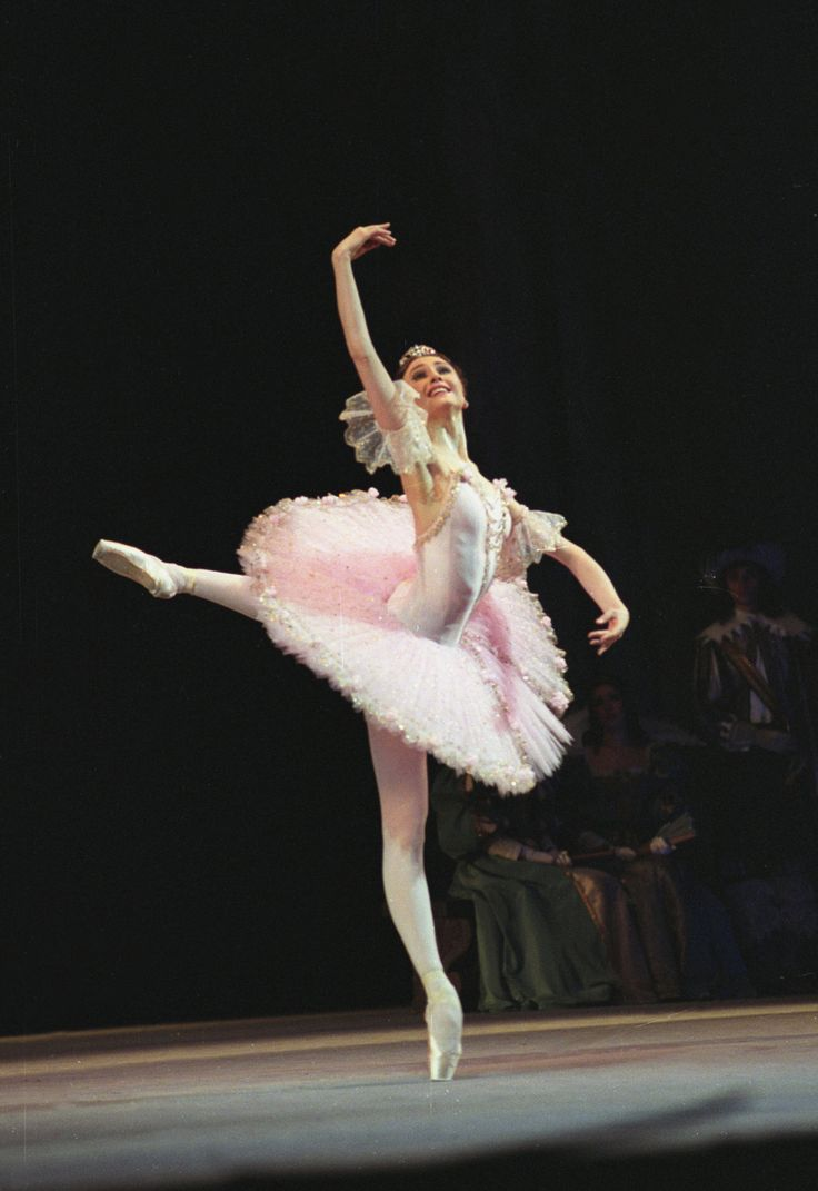 Svetlana Zakharova as Aurora in Sleeping Beauty ©photo by Bausova
